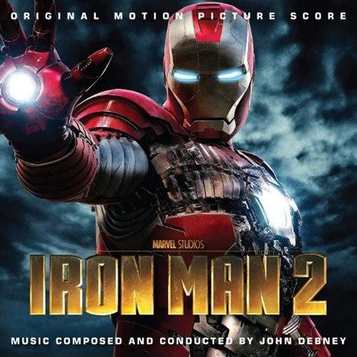 Iron Man 2   Debney  l   homme de ferIron Man 2 Cover Art