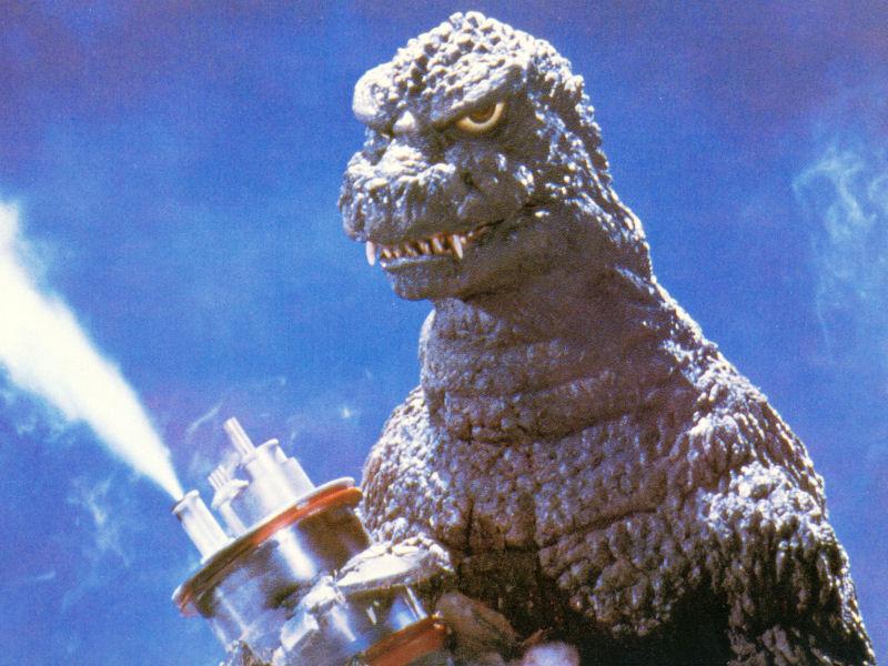 Godzilla fume ce qu'il veut, ça ne regarde que lui, mais ça le met de toute évidence de très mauvaise humeur...
