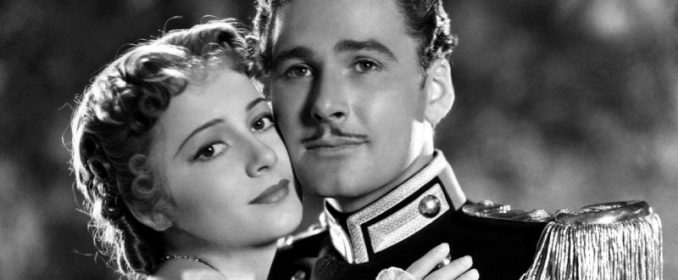 Olivier de Havilland et Errol Flynn dans The Charge Of The Light Brigade