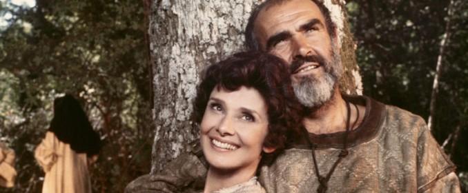 Audrey Hepburn et Sean Connery dans Robin And Marian