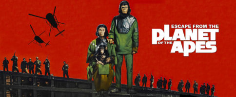 Escape From The Planet Of The Apes Banner