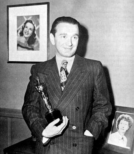 Rózsa et son Oscar pour A Double Life en 1948