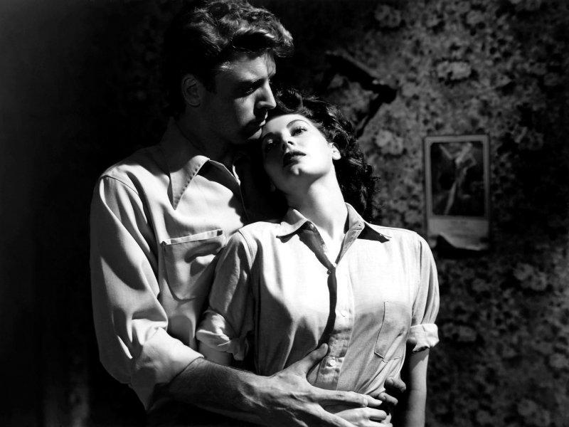 Burt Lancaster et Ava Gardner dans The Killers (1946)