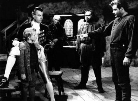 Stewart Granger dans Moonfleet (1955)