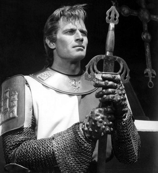 Charlton Heston dans El Cid (1961)