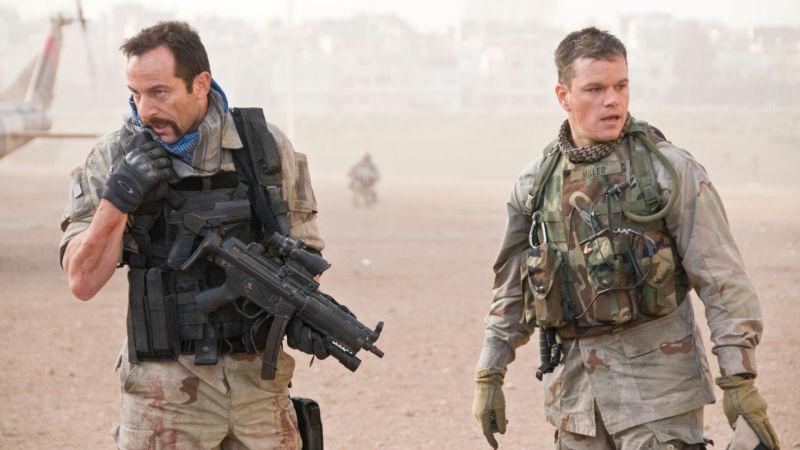 Jason Isaacs et Matt Damon dans Green Zone
