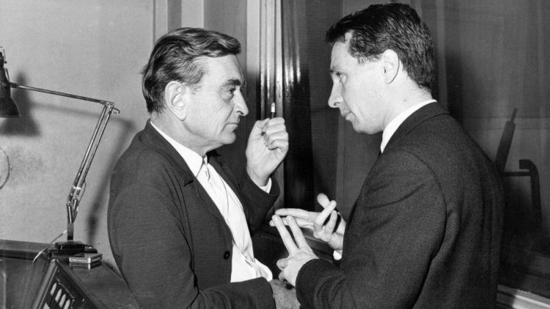David Lean et Maurice Jarre