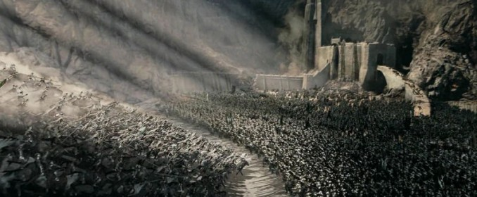 The battle of Helm's Deep