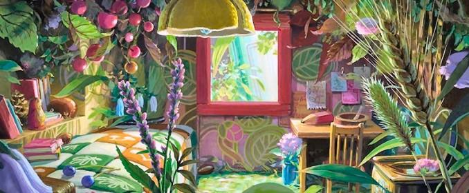 La chambre d'Arrietty
