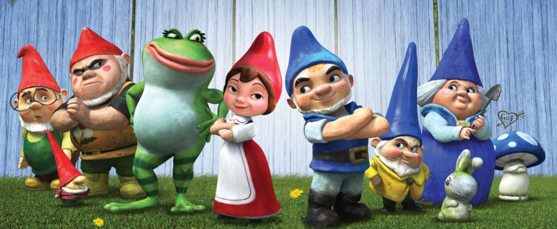 Gnomeo & Juliet (James Newton Howard) James Newton Howard & Elton Gnome : haut les nains !