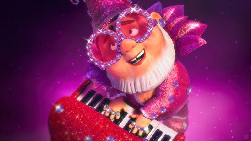 Elton Gnome dans un rôle à sa mesure
