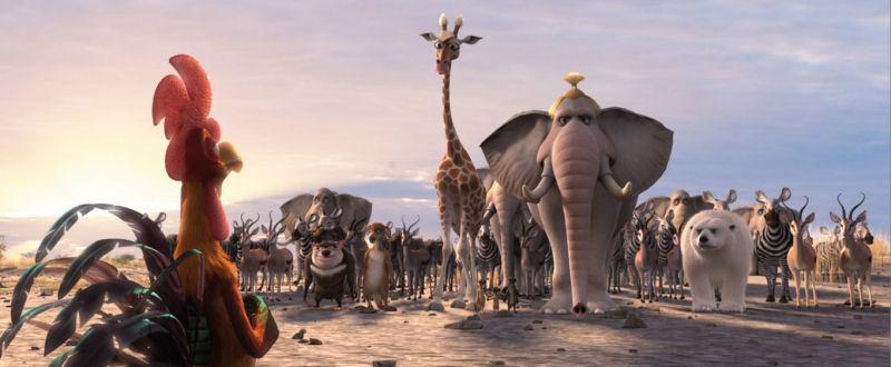 Animals United (David Newman) La horde (pas si) sauvage