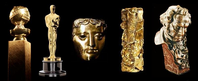 Bilan des récompenses pour l'année 2010 Oscars, Golden Globes, Baftas, Césars, Goyas et IFMCA !