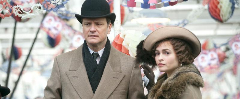 Le roi George VI (Colin Firth) et la reine Elizabeth (Helena Bonham-Carter)