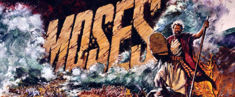 Moses The Lawgiver Banner