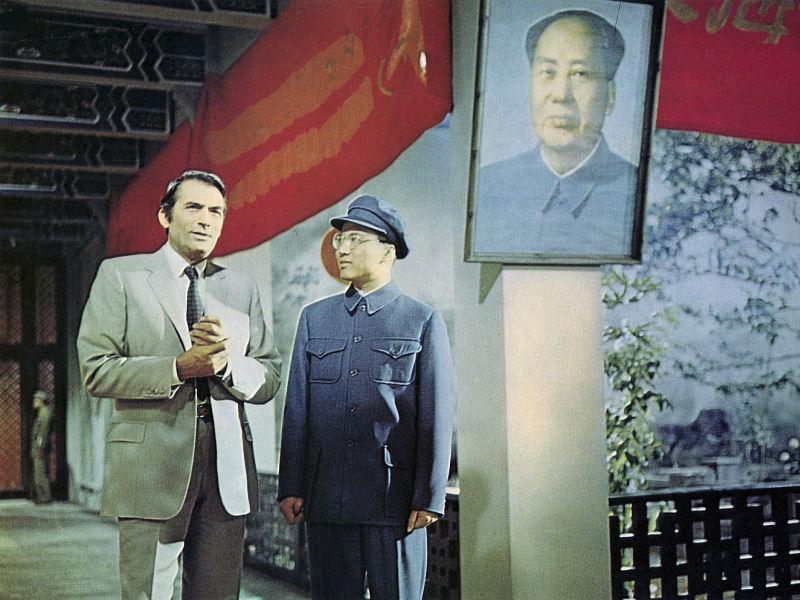 Gregory Peck au coeur de la Chine de Mao