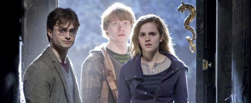 Harry, Ron et Hermione