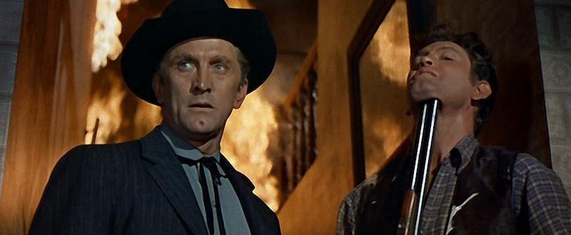 Morgan menace Rick Belden (Earl Holliman)
