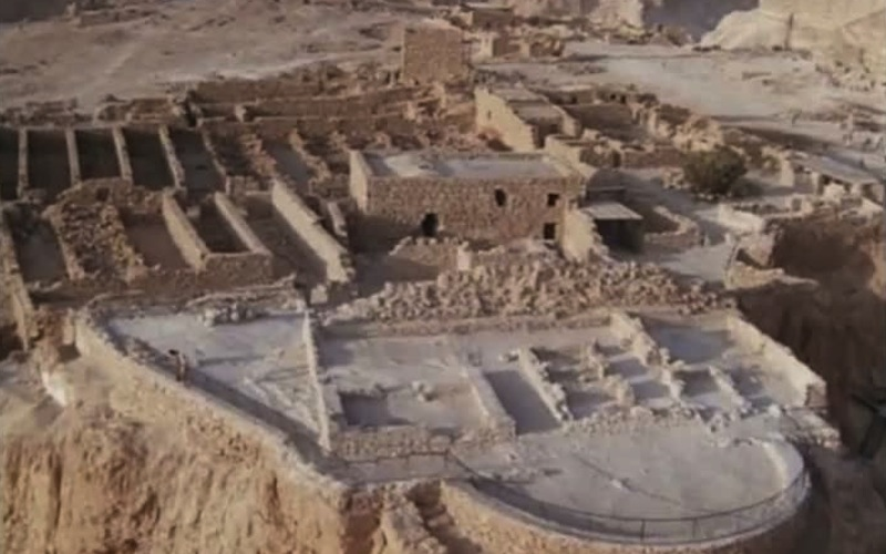La forteresse de Masada