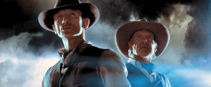 Daniel Craig et Harrison Ford dans Cowboys & Aliens