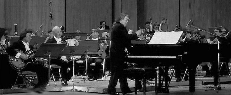 Georges Delerue en concert à Lille en 1984