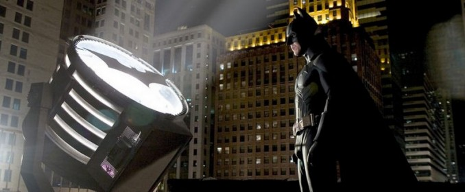 Batman et sa lampe de poche