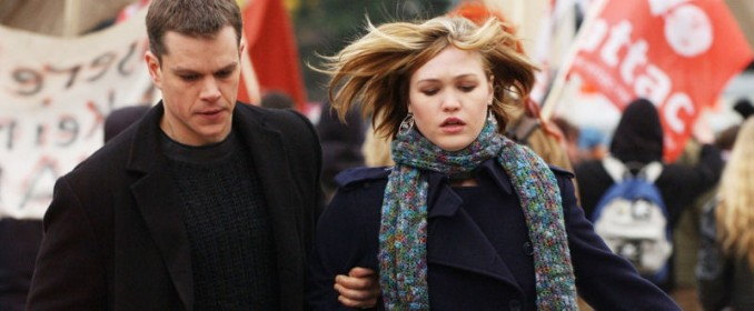 Jason Bourne  et Nicky (Julia Stiles)