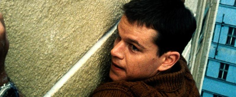 Jason Bourne (Matt Damon) tente d'échapper à ses poursuivants
