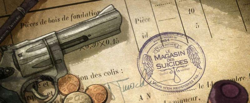 Le Magasin des Suicides (Etienne Perruchon) La mort vous va si bien