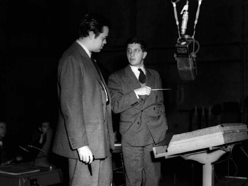 Orson Welles et Bernard Herrmann