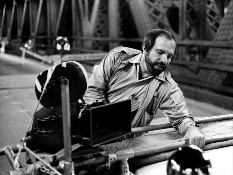 Brian De Palma sur le tournage de The Fury