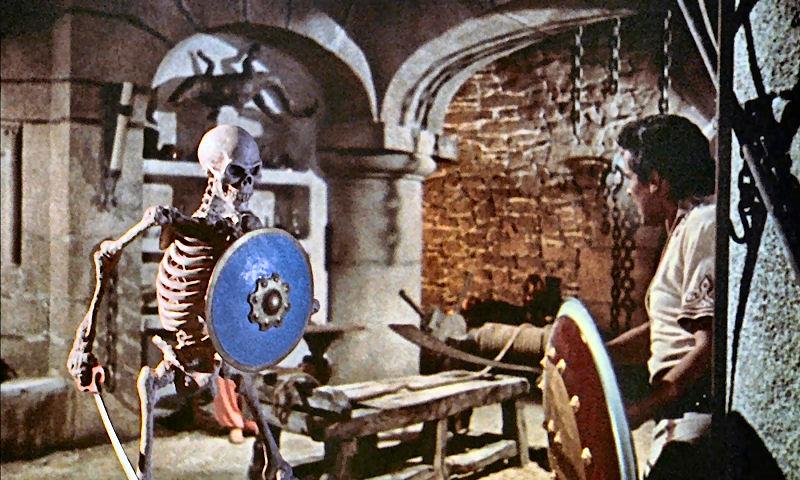 Sinbad contre le squelette