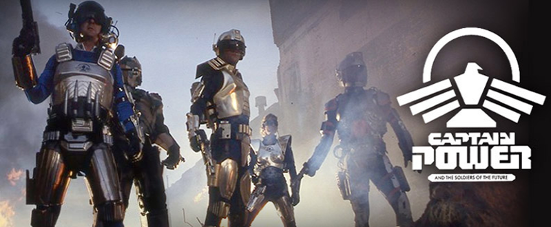Captain Power And The Soldiers Of The Future (Gary Guttman) Sus à l'empire Biotron !