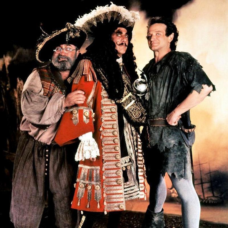 Smee, Hook et Peter Pan