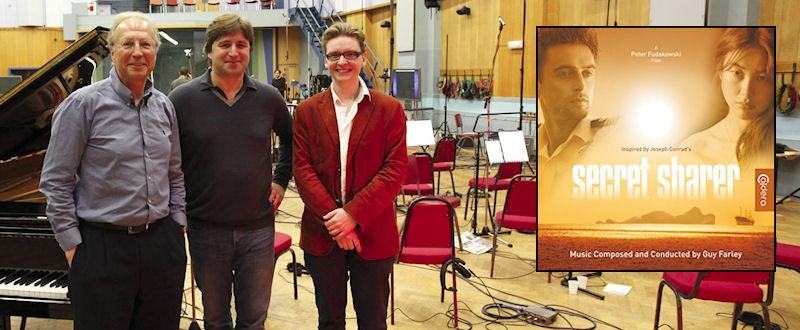 Peter Fudakowski, Guy Farley & Stephan Eicke at Abbey Road