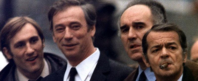 Gérard Depardieu, Yves Montand, Michel Piccoli et Serge Reggiani dans Vincent, François, Paul et les autres...