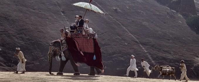 Voyage à dos d'éléphant