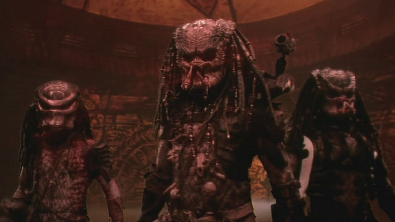 Un Predator, ça va déjà pas, alors trois Predators...