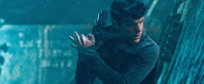Spock en pleine action