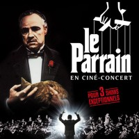Le Parrain en ciné-concert au Palais des Congrès Venez donc rendre hommage bien mérité à Don Corleone (et à Nino Rota) le 23 juin 2016 !