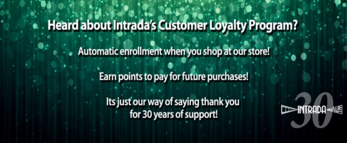 Intrada's Customer Loyalty Program