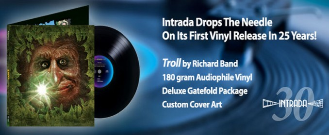 Troll, first LP released by Intrada in 25 years!
