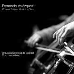 Concert Suites: Music For Films (Fernando Velázquez) UnderScorama : Janvier 2016