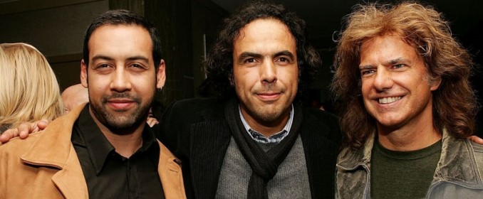 Antonio Sanchez, Alejandro González Iñárritu and Pat Metheny