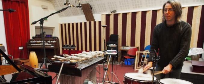 Fabrice Bony aux percussions