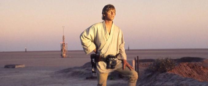 Luke Skywalker (Mark Hamill) dans Star Wars: A New Hope