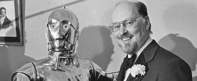 C-3PO et John Williams