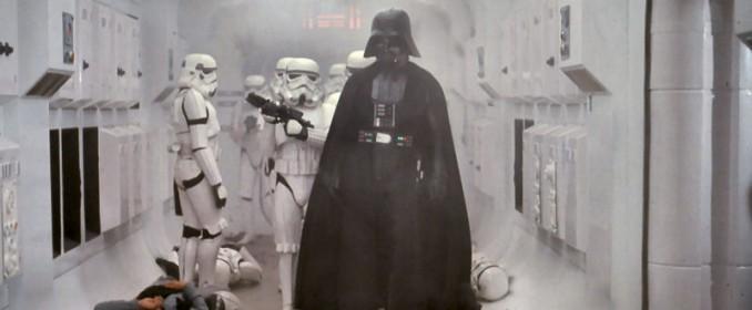 Darth Vader (David Prowse) dans Star Wars: A New Hope