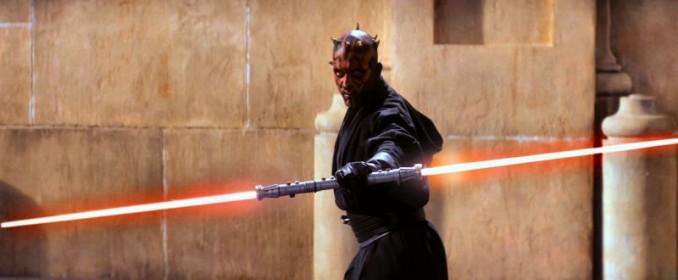 Darth Maul (Ray Park) dans Star Wars: The Phantom Menace