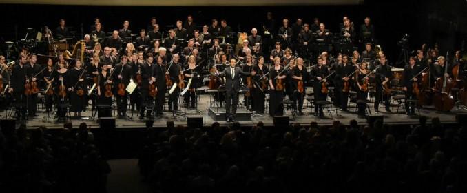 Le London Symphony Orchestra au grand complet